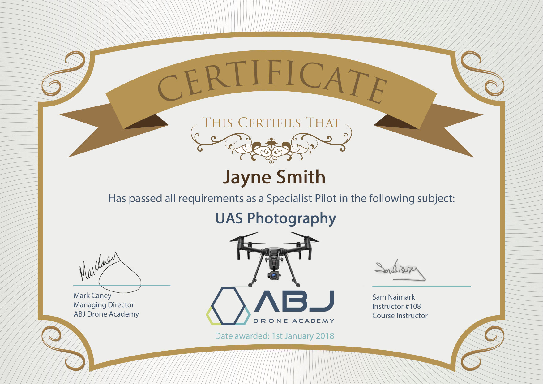 Professional Specialized Drone Training Courses Abj Academy