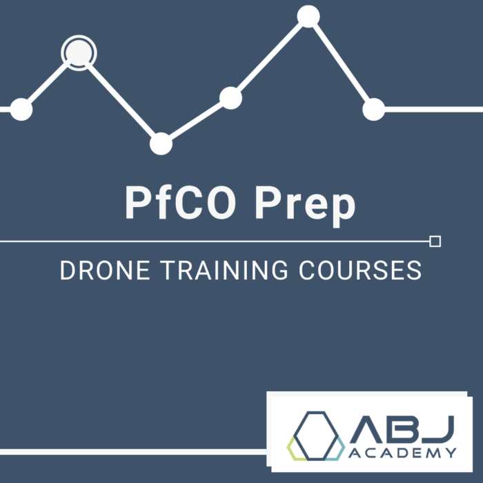 PfCO Prep Drone Training Course - ABJ Drone Academy