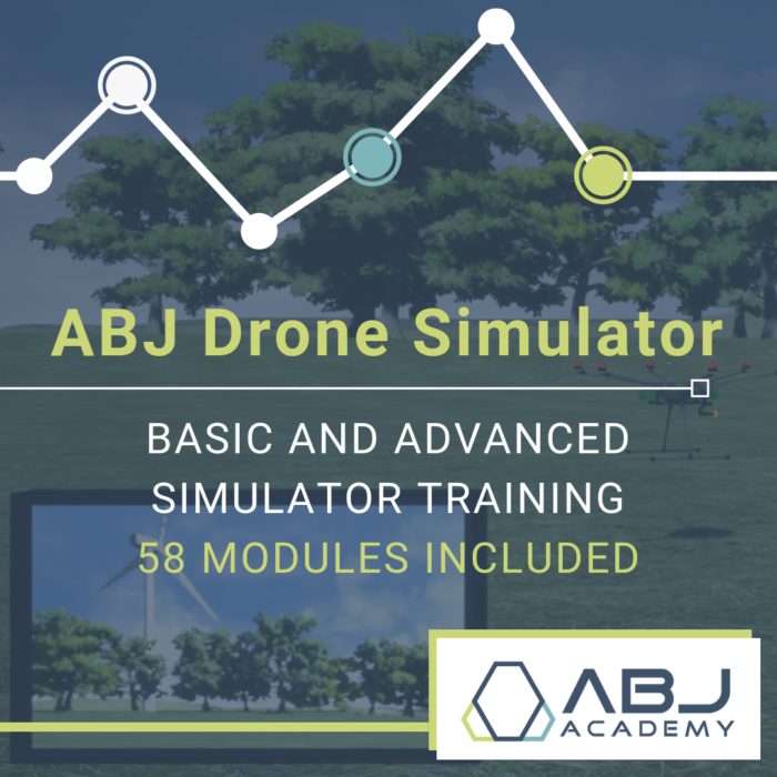 ABJ Drone Simulator - Basic and Advanced Simulator Training with 58 Modules